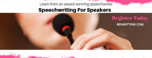 Speechwriting for Speakers (course)