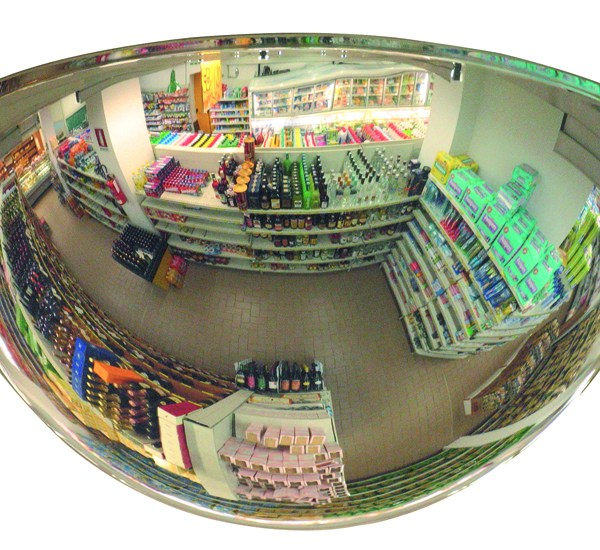 shop security mirrors half hemisphere