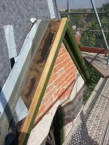 Schallläden Kirchturm Anpassung Vor Ort Kranzprofil für Nacharbeiten