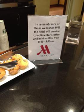 marriot muffins 911