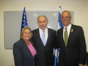 Representatives Deutch and and Ros-Lehtinen meeting with Israeli Prime Minister Netanyahu on 3 July