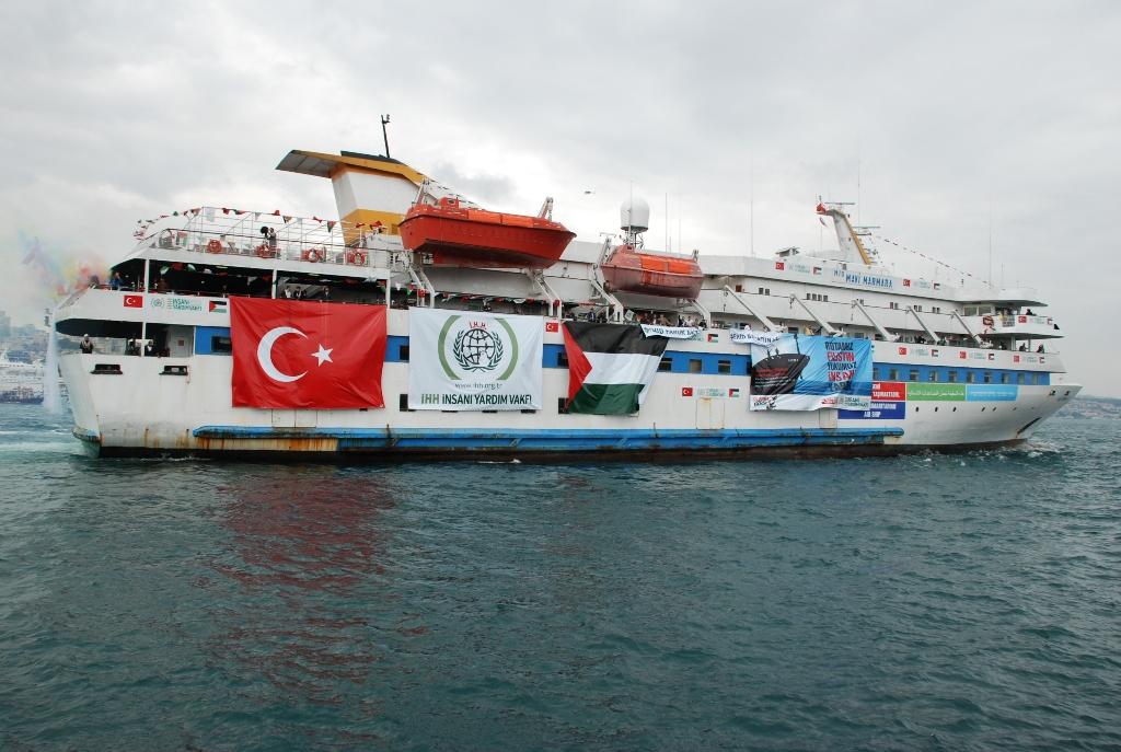 The Gaza Freedom Flotilla  CREDIT: Wikimedia Commons