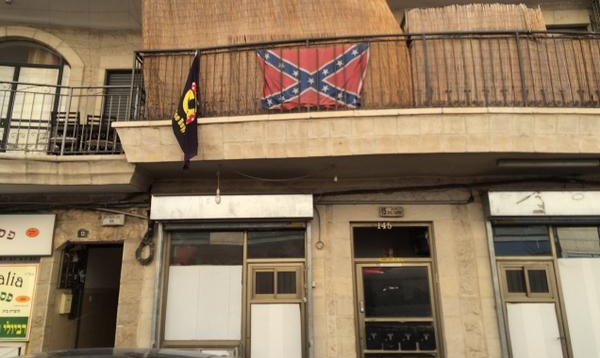 Israelis Proudly Display Confederate Flags in Jerusalem
