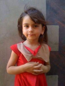 5-year-old Palestinian girl Enas Shawkat, run over and killed by an Israeli settler