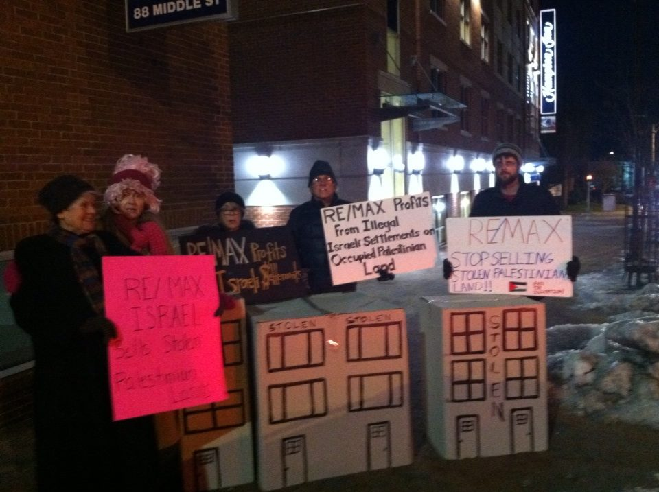 No Open House protesters in Portland, Oregon on 5 December   CREDIT: Lisa Savage