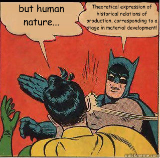 human nature batman