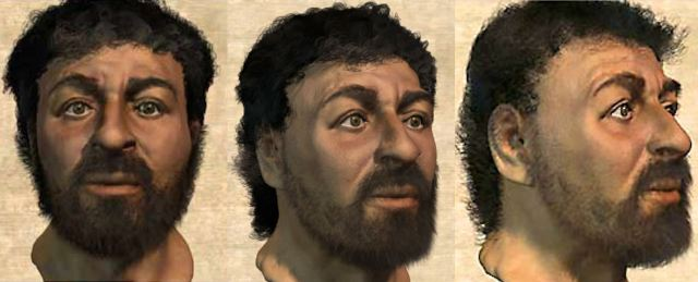 Forensic anthropologists say Jesus would have looked like this.CREDIT: Popular Mechanics