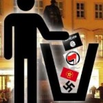 A symbol PEGIDA includes on its posters and Facebook page