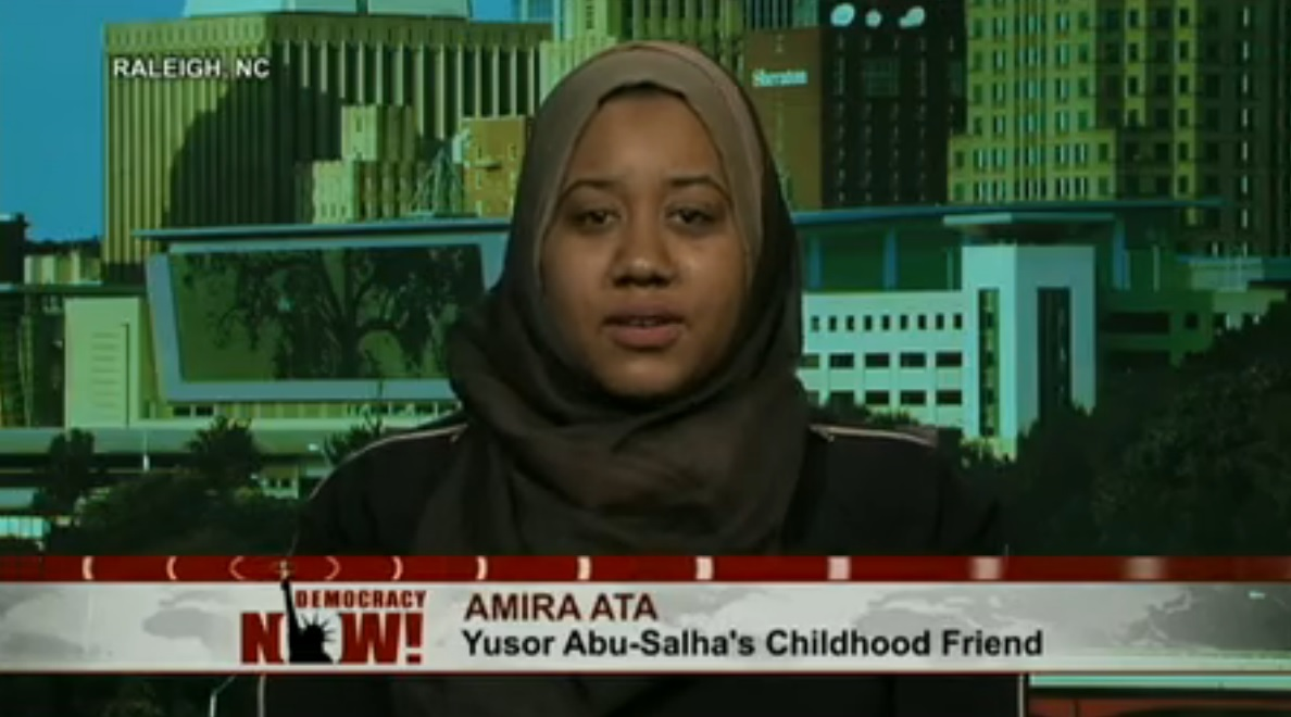 Amira Ata, friends of the victims