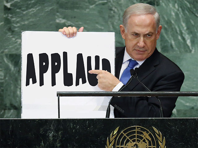 Over One-Fourth of Netanyahu's Congress Pep Rally Speech Consisted of Applause