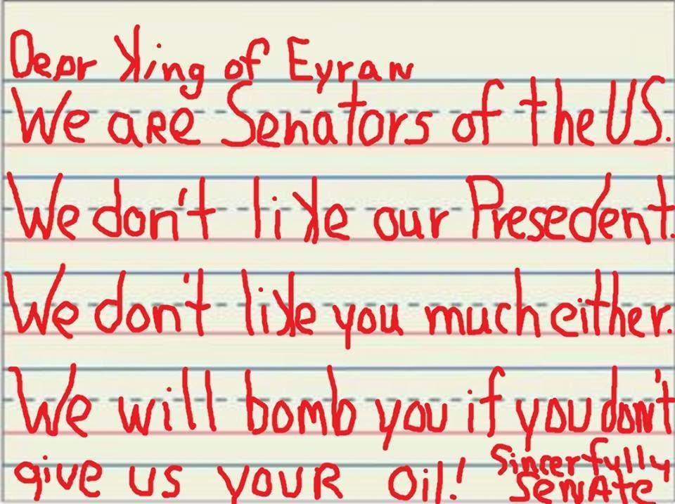 Breaking: Someone Leaked Copy of Letter GOP Senators Sent to Iran