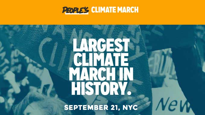 The People's Climate March in Photos