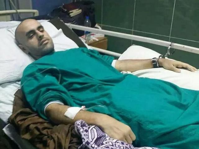 Mohamed Soltan in critical condition while in Egyptian captivity CREDIT: