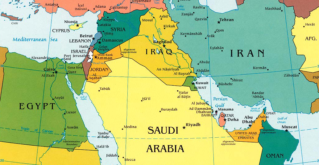 "Senior Obama Administration Official Says ""Saudi Arabia Has An Extensive Border with Syria"""