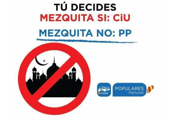 Right-Wing Spanish PP Campaigned on Opposing Building a Mosque