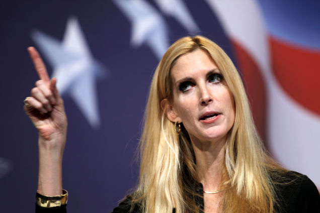 Ann Coulter Says All Immigration Is Bad—Like Fascists