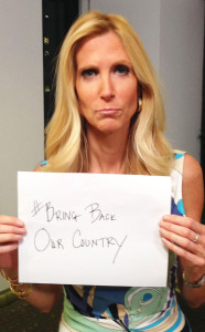 ann coulter sign