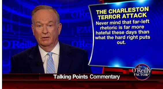bill o'reilly far-left rhetoric