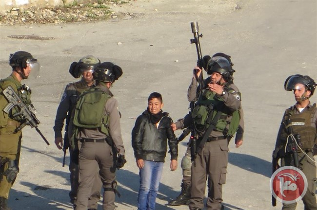 Israel Detained 1,266 Palestinian Children in 2014