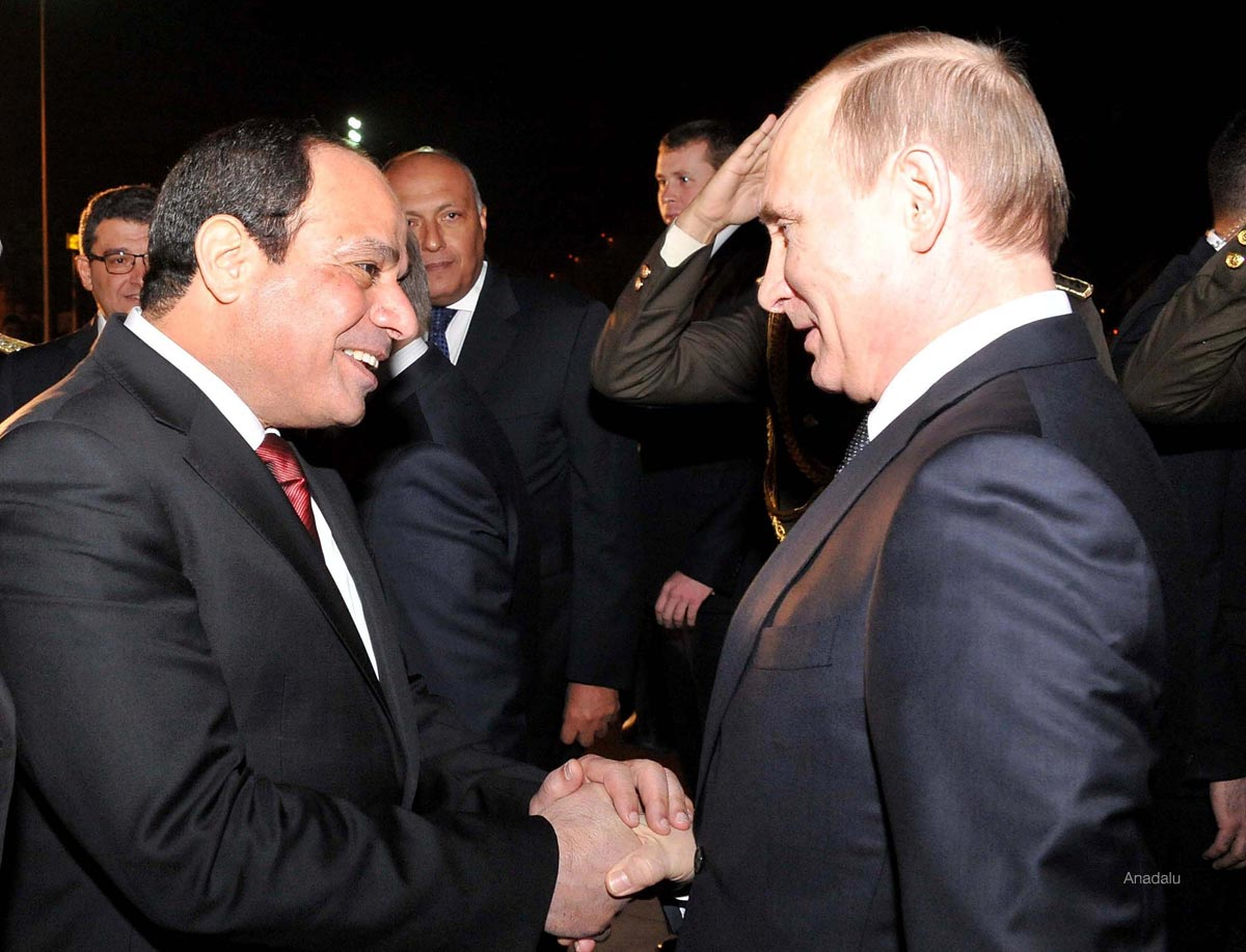 Friendship Bridge 2015: Sisi and Putin Draw Closer