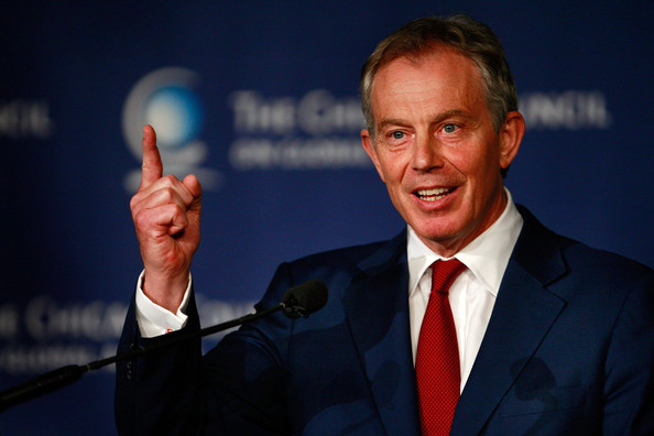 Tony Blair, Dictator-Supporting Neoliberal