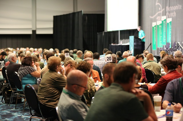Mennonite Church 2015 convention small