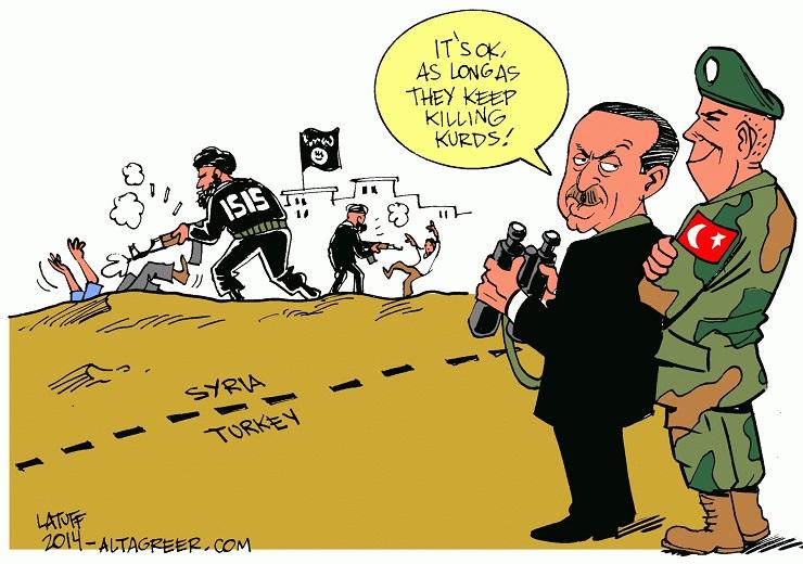 Turkey Bombs the Kurdish Resistance, ISIS' Worst Enemy