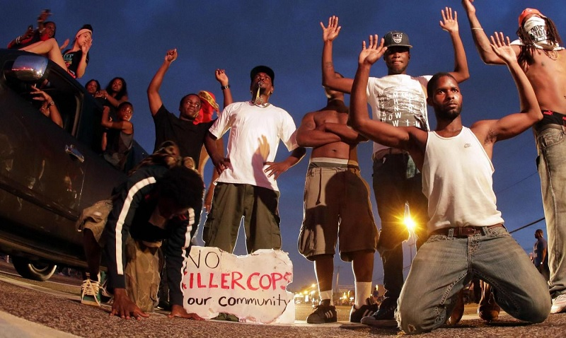 3 Americans per Day Killed by Police in Year After Shooting of Michael Brown