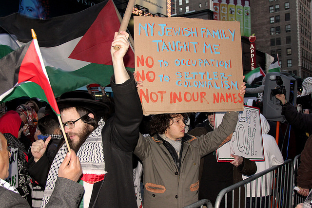 "Dueling pro-Palestine and pro-Israel ""Third Intifada"" rallies in Times Square"