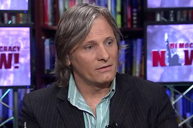 """That's tyranny"": Viggo Mortensen blasts US militarism, criticizes both parties for ""hawkish"" foreign policy"