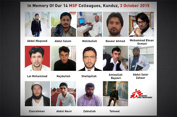 Read about the lives and families of the 14 Afghan hospital workers killed by US bombing