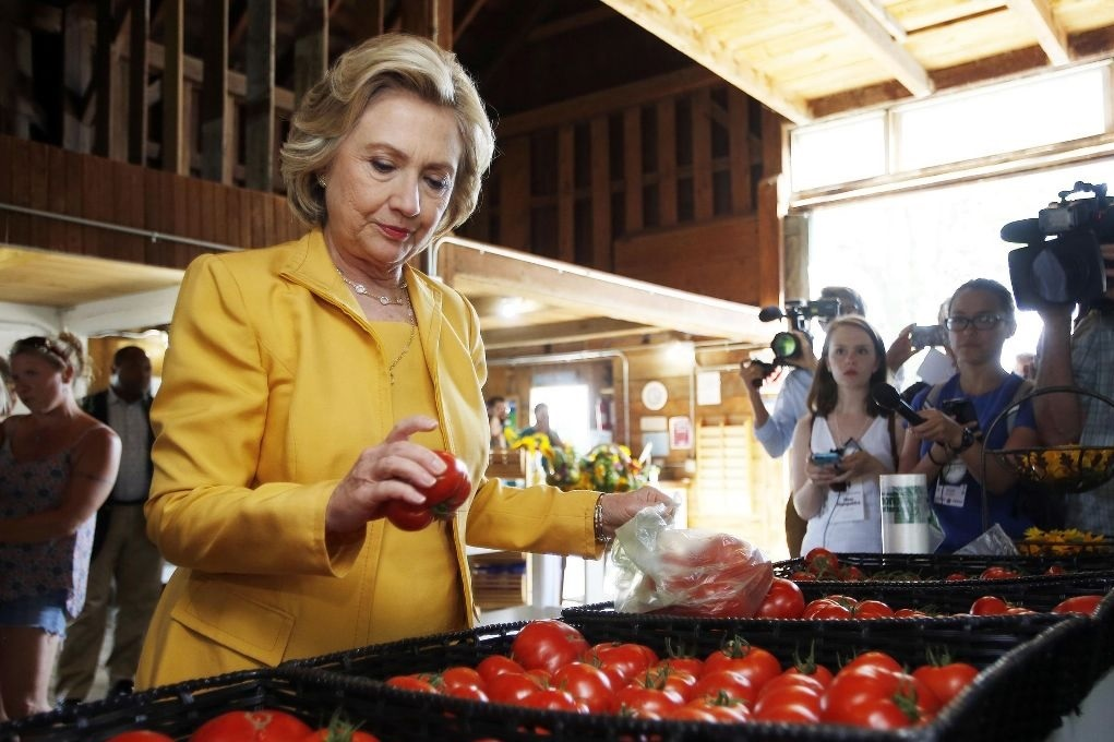 Hillary Clinton gives Incredibly Important Interview, outlining pro-pepper, anti-snake platform
