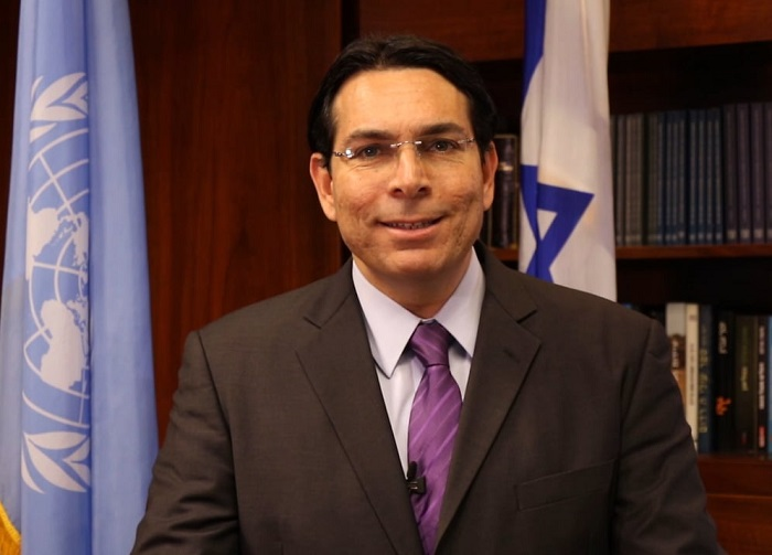 "Far-right Israeli ambassador Danny Danon, who calls African refugees a ""plague"" of ""infiltrators,"" faces protests"