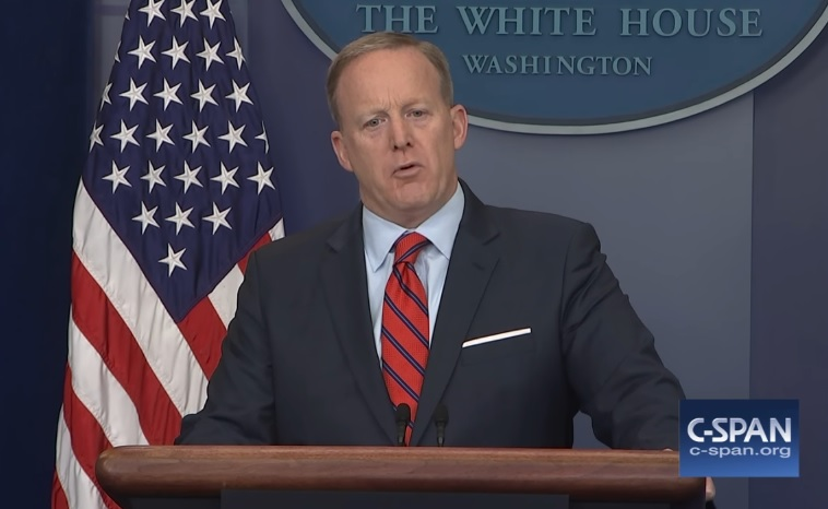 "Sean Spicer repeats US goal is to ""destabilize Syria"" and ""the region,"" while whitewashing Hitler to push regime change"