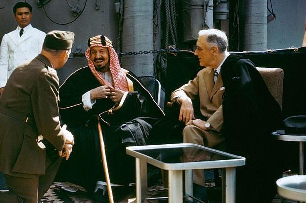 fbi saudi king ibn saud 1945