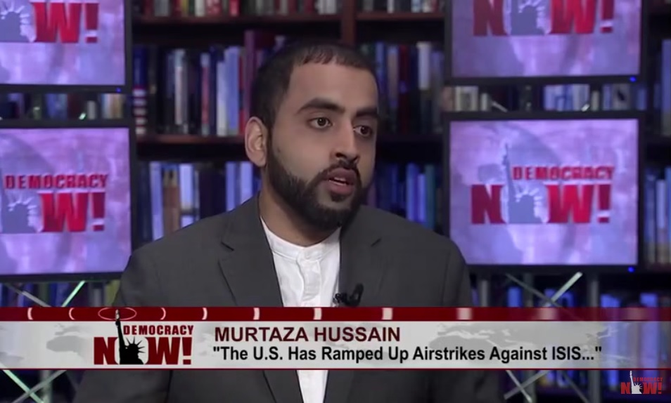 The Intercept's Murtaza Hussain acknowledges Syrian opposition was Saudi proxy – after pushing for regime change