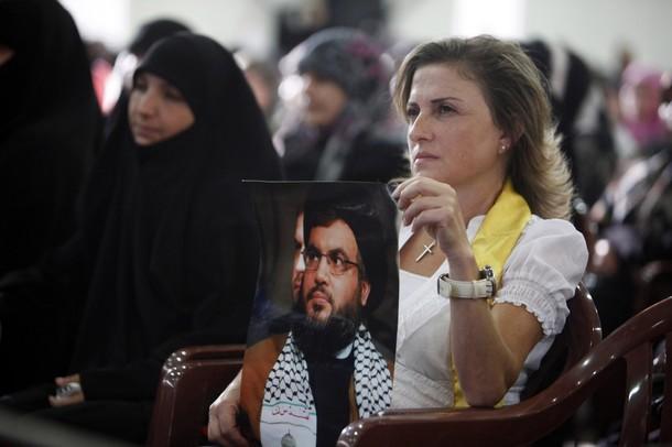 hezbollah christian woman nasrallah