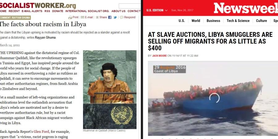 iso socialist worker racism libya