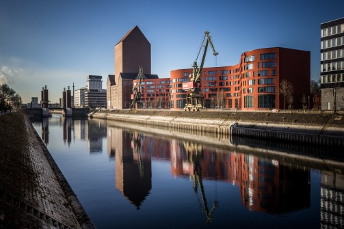 Reflections at Innenhafen
