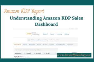 Amazon KDP report
