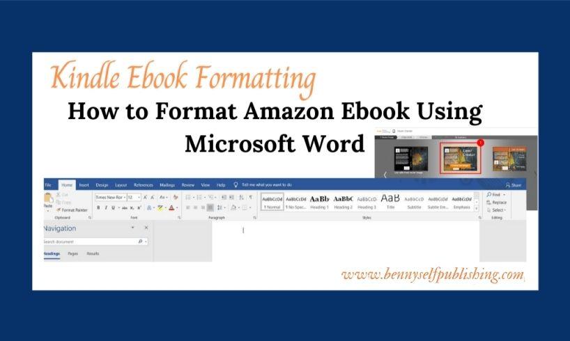 Kindle Ebook Formatting