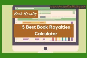 book royalties calculator in bennyselfpublishing book royalties calculator