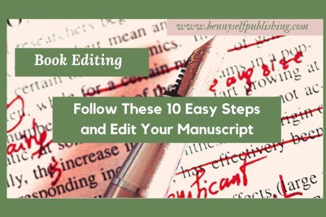 book editing