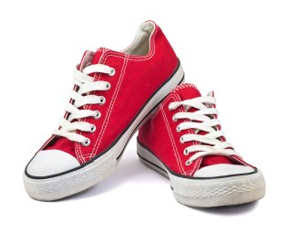 classic red chuck taylors