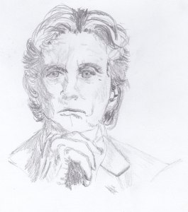 Micheal Douglas Drawing by Rachel