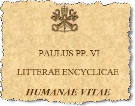 """Résultat de recherche d'images pour """"""""Humanae Vitae""""."""""""