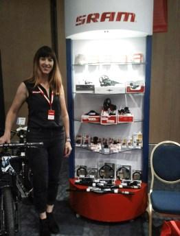 Elizabeth Sparrow / SRAM International Sales Director