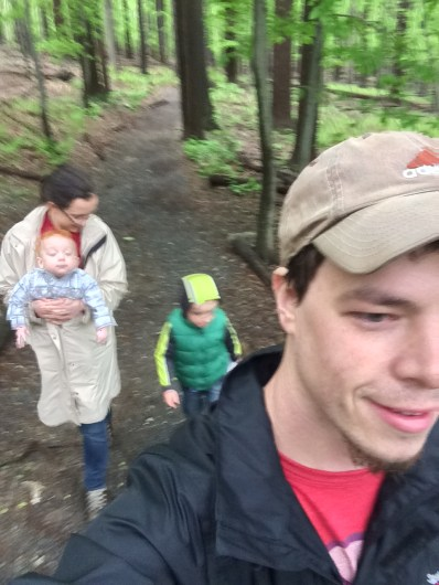 The family that hikes together...