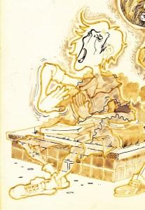 Vic Harville illustration, detail, 9-21-88