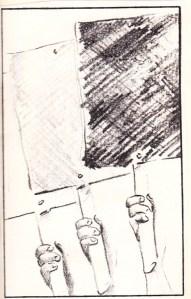 Ceci Davidson illustration, 5-9-1990
